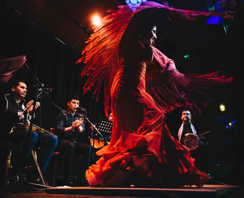 Hamid Ajbar Arab Flamenco