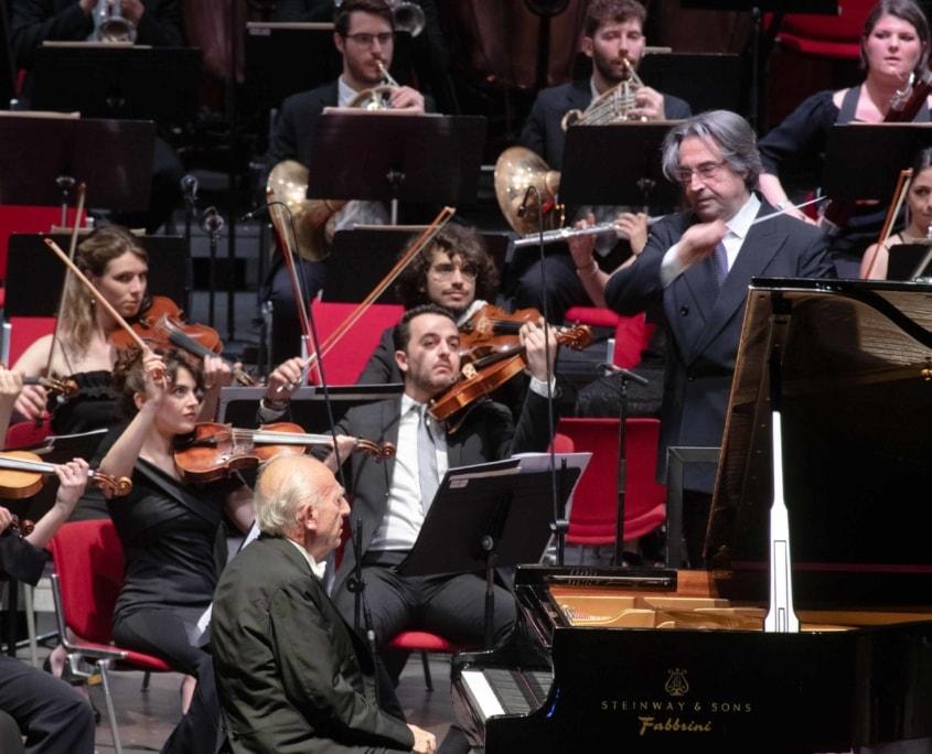 Maurizio Pollini Riccardo Muti