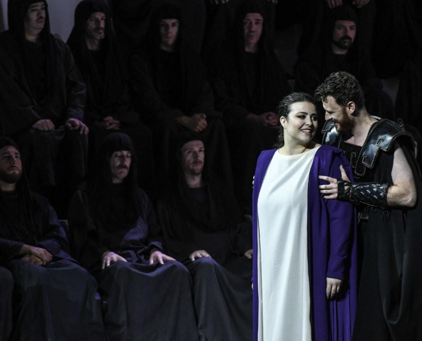 Roberta Mantegna, Polissena - Norman Reinhardt, Achille