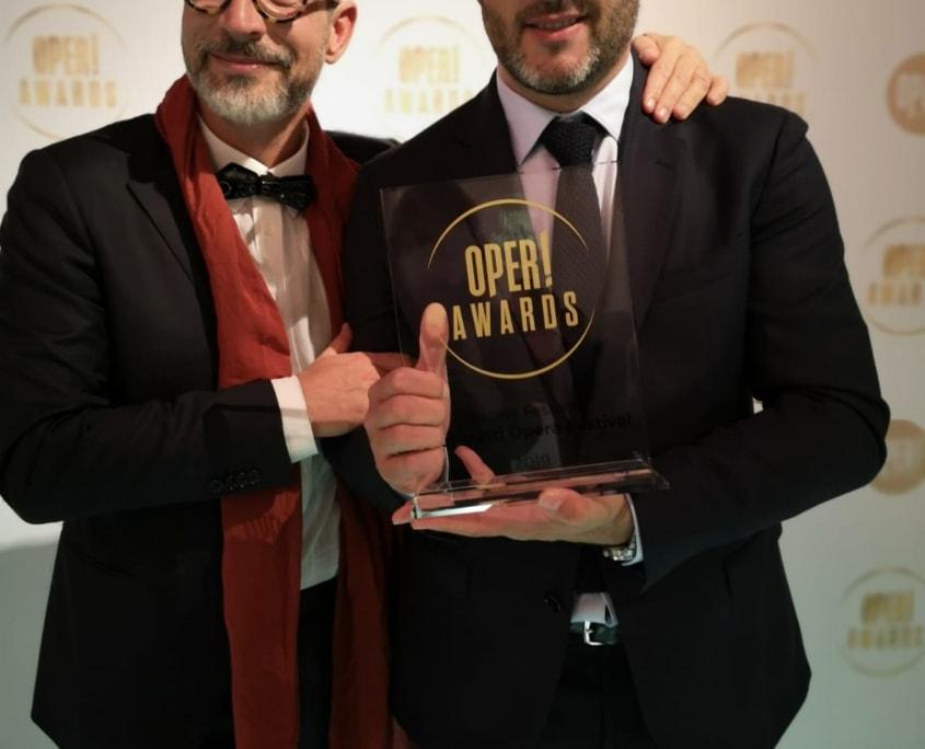 Francesco Micheli e Riccardo Frizza