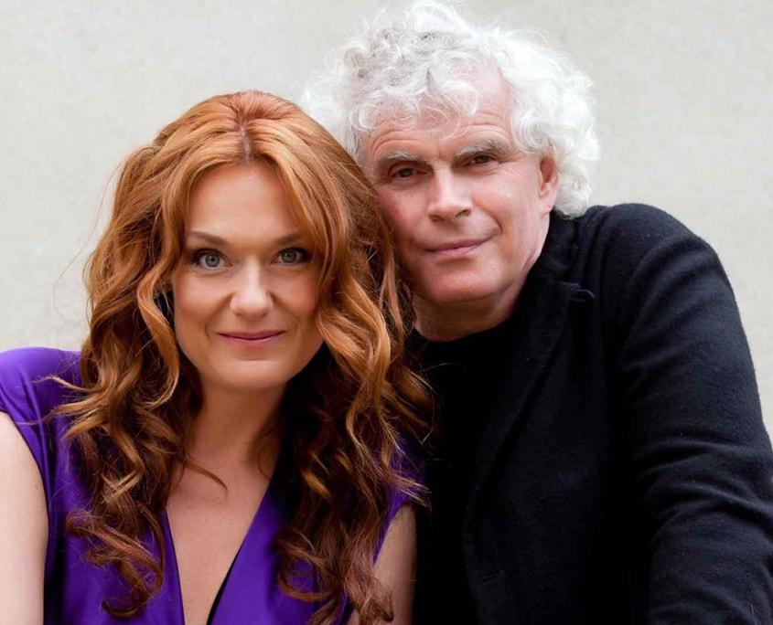 Magdalena Kožená, Simon Rattle