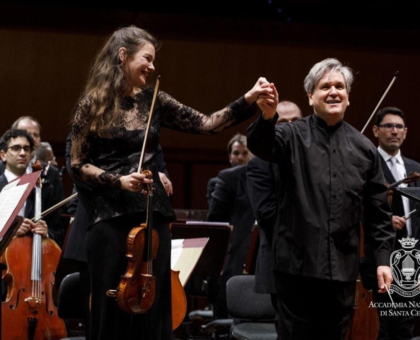 Antonio Pappano, Janine Jansen