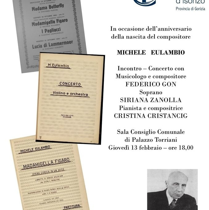 Michele Eulambio, Gradisca d'Isonzo