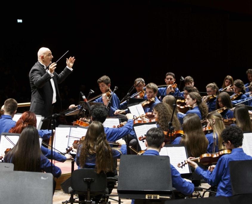 JuniOrchestra, Accademia Nazionale di Santa Cecilia